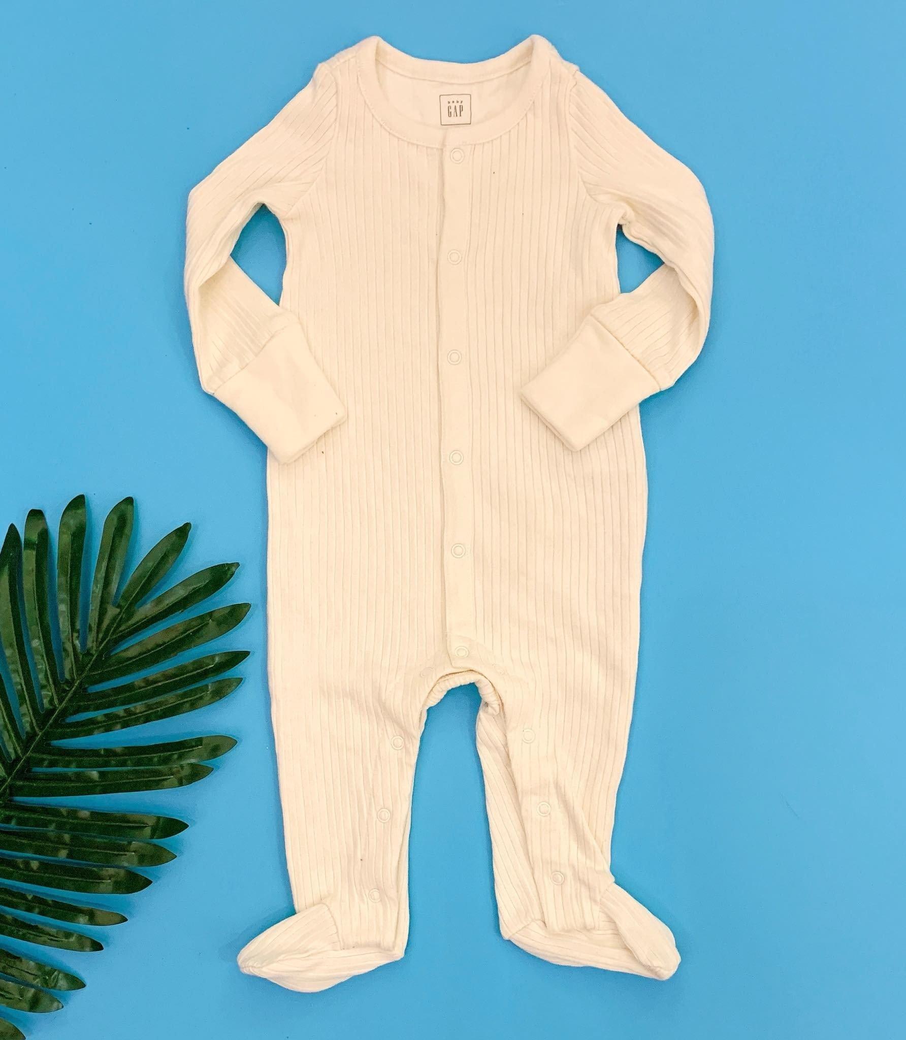 [5-10kg] Sleepsuit Baby Gap 56 [Boy] - Kem/Sọc