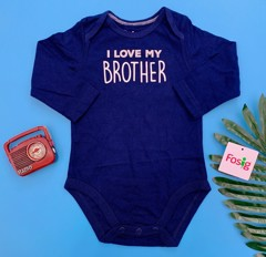 [6-10kg] Bodysuit Jumping Beans [Boy] - Navy/Brother