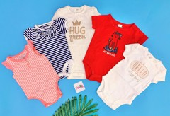 [4-12kg] Set 5 Bodysuit Baby B'gosh [Girl] - Random