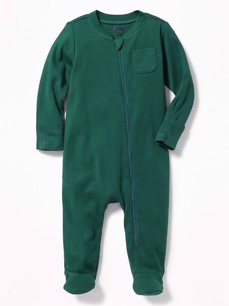 [4-7kg] Sleepsuit Old Navy [Boy] - Xanh Rêu