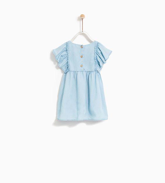 Đầm ZaRa [Girl] - Xanh