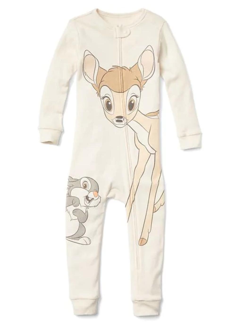 [11-14kg] Sleepsuit Baby Gap 56 [Boy] - Kem/Hươu Thỏ