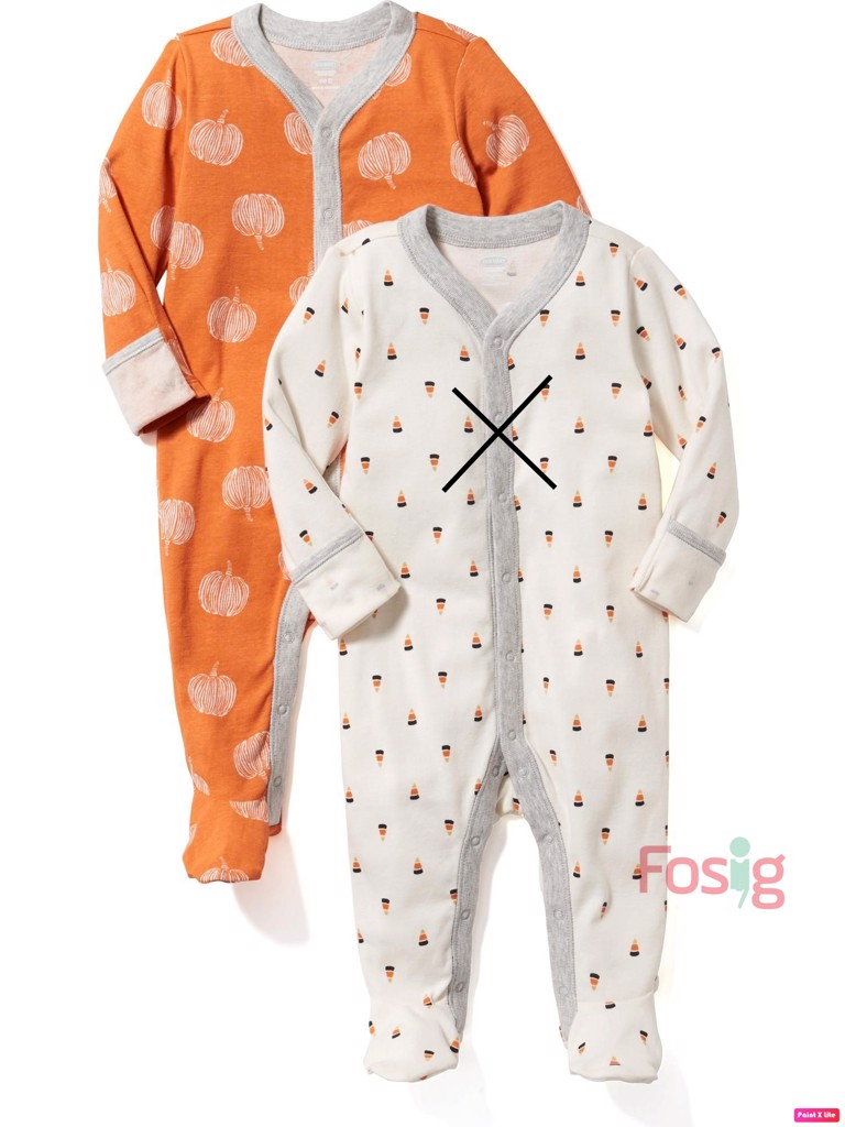 [6-7kg] Sleepsuit Old Navy [Boy] - Cam/Bí