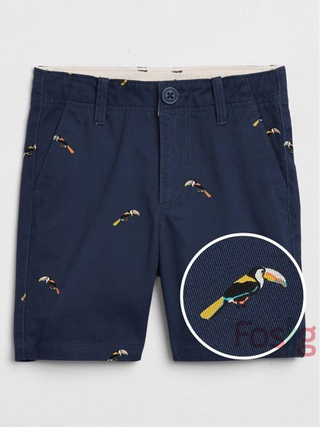 [10-20kg] Quần Short Kaki Gap [Boy] - Navy/Chim
