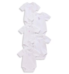 [4-12kg] Set 5 Bodysuit BaBy Club [Boy/Girl] - Random