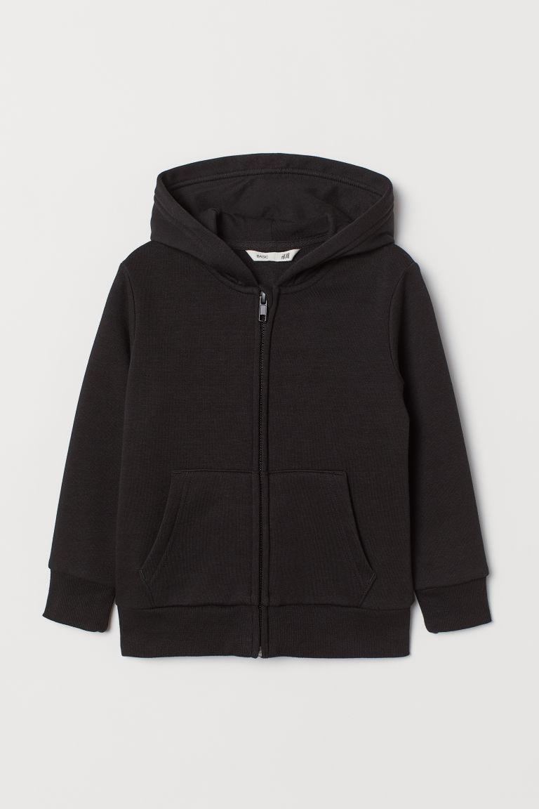 [11-18kg] Áo Khoác H&M 64 [Boy] - Đen Trơn