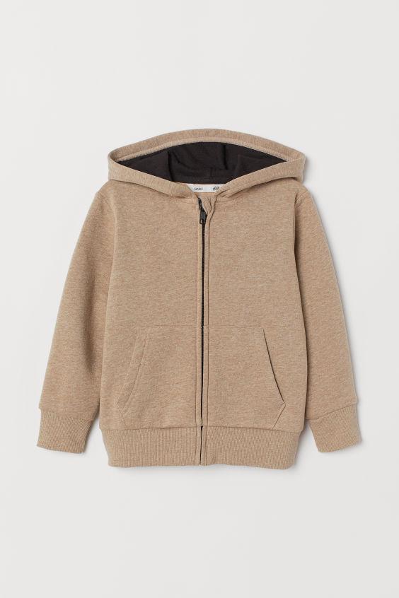[15-16kg] Áo Khoác H&M 64 [Boy] - Nâu Trơn