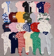 [4-13kg] Set 3 sleepsuit Old Navy [Boy/Girl] - Random