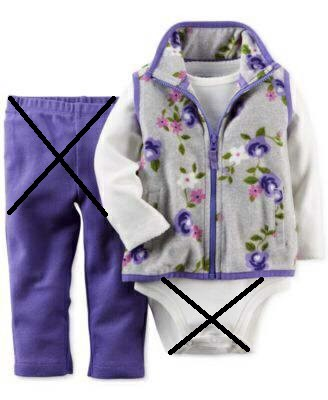 Áo khoác Carter's [girl] - Grey Purple/Flower