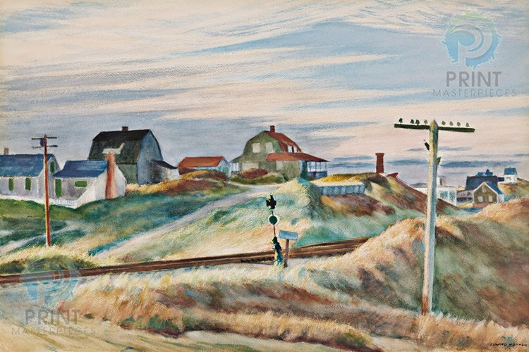 Cottages at North Truro by Edward Hopper