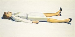 Supine Woman by Wayne Thiebaud
