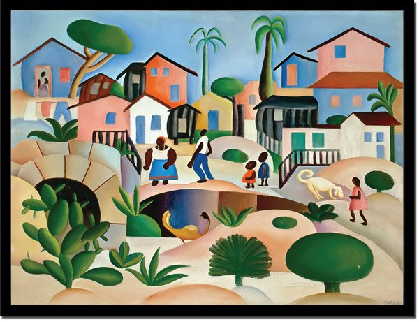 Morro Da Favela 1945 By Tarsila Do Amaral