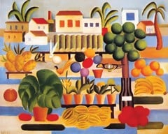 Feira By Tarsila Do Amaral