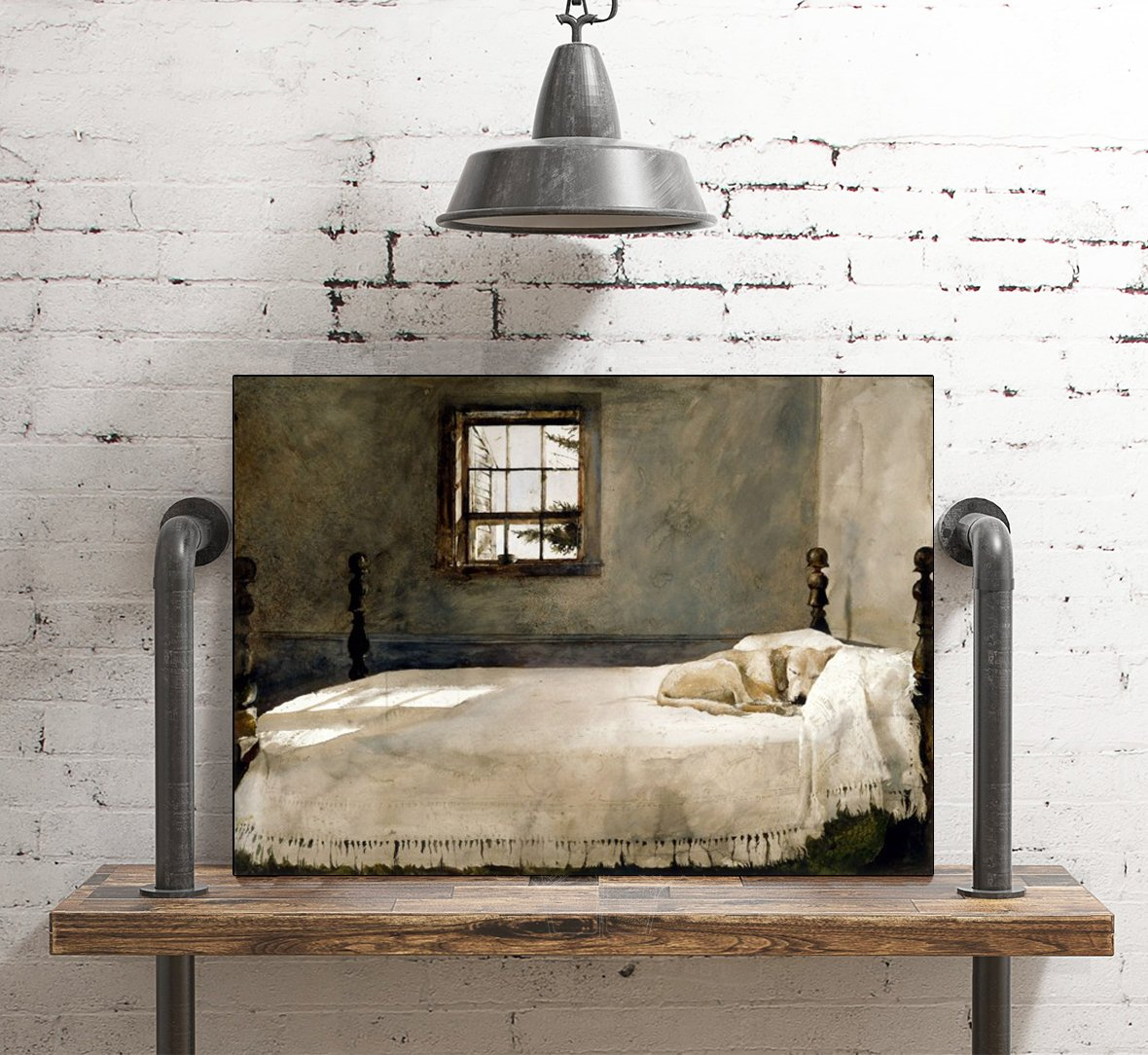 Master Bedroom By Andrew Wyeth Print From Print Masterpieces