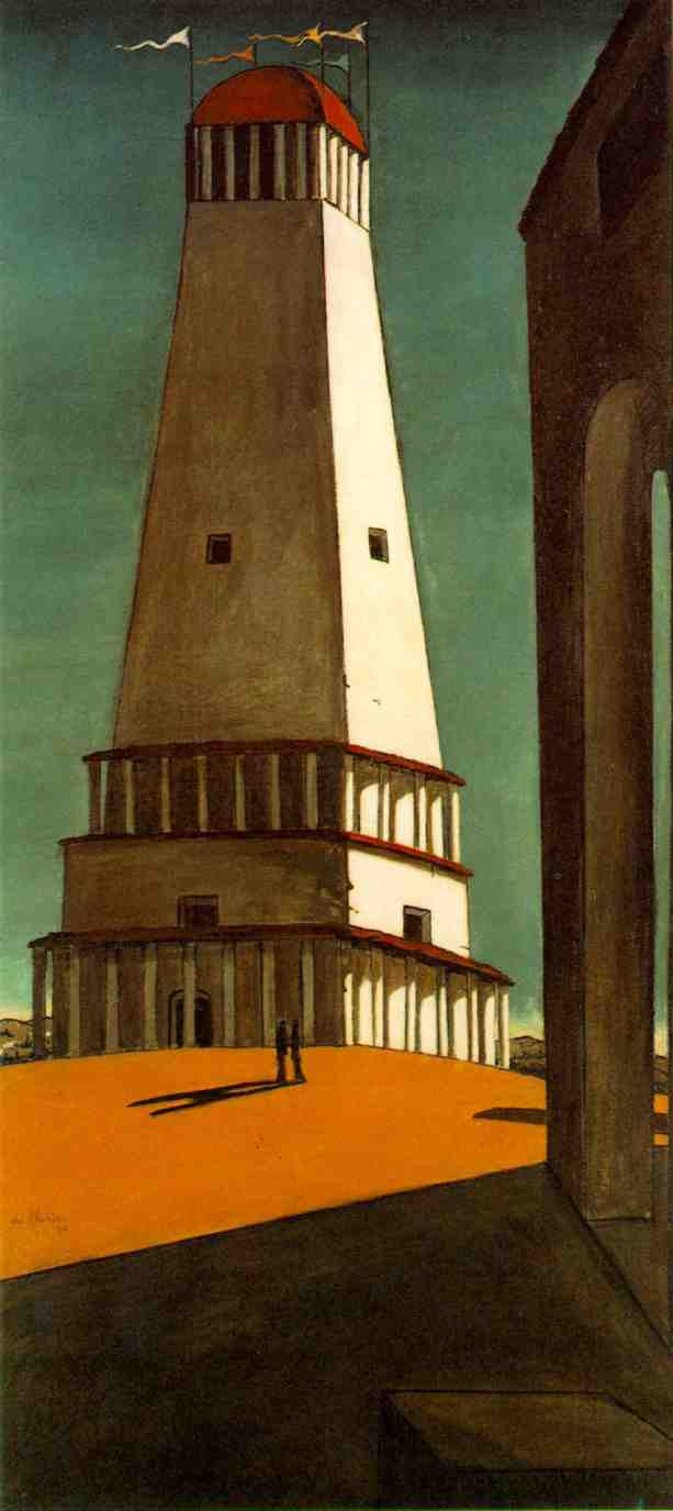 The Nostalgia Of The Infinite 1913 By Giorgio De Chirico
