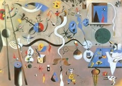 The Carnival Of Harlequins by Joan Miró