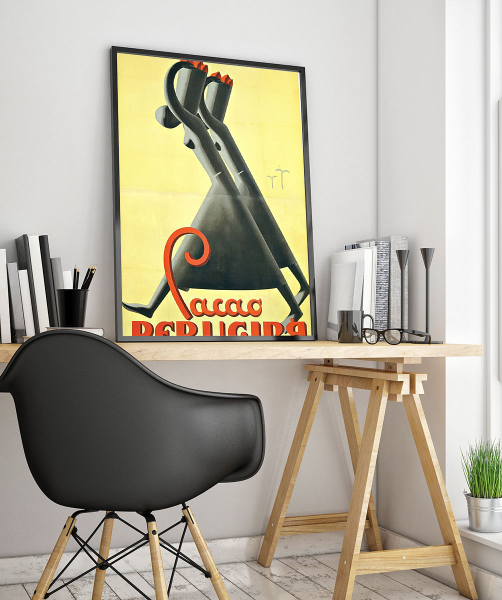 24food Beverage Art Deco Poster