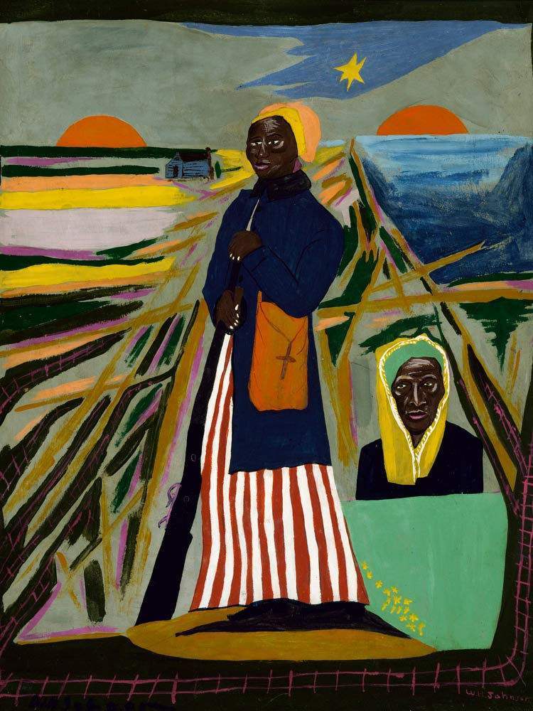 Harriet Tubman William H Johnson