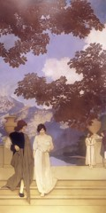 The Florentine Fete A Call To Joy by Maxfield Parrish