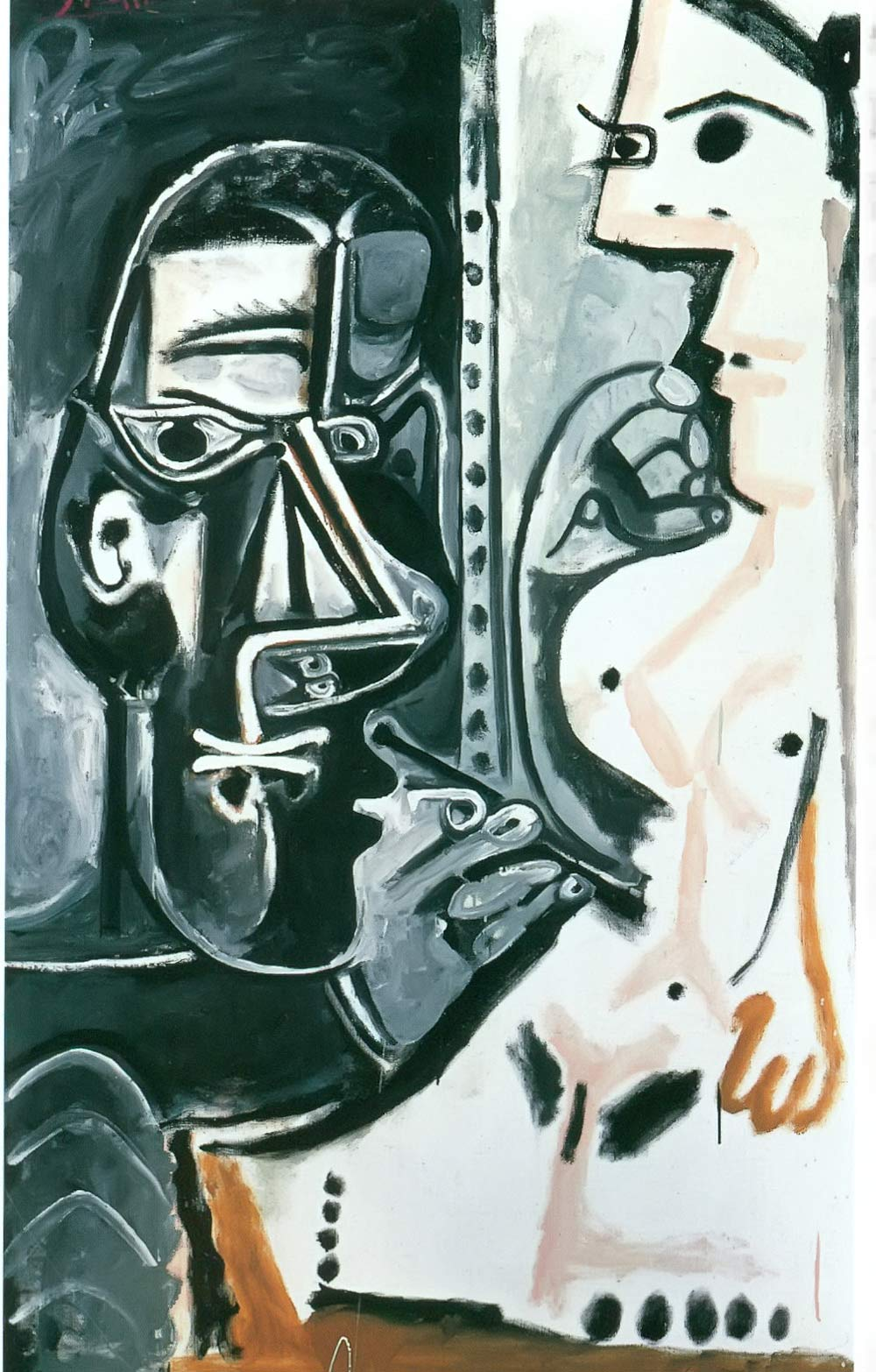 Painter And His Model 1964 Pablo Picasso