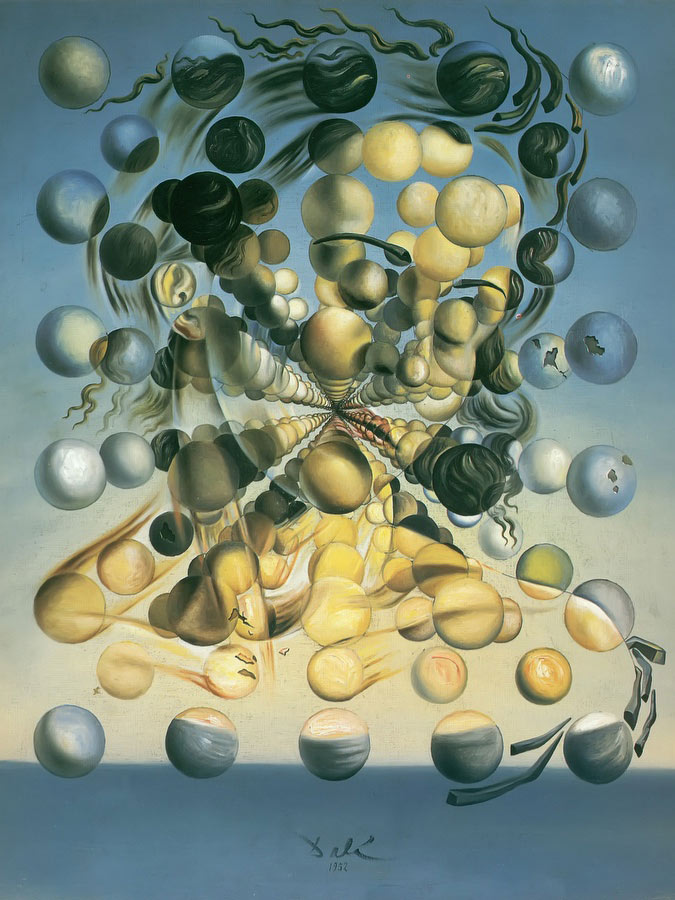 """Galatea of the Spheres"" by Dalí (1952) What is Surrealism and why is it important? What is Surrealism and why is it important? upload 01a5ad031b784607ae3534e873fd5609"