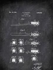 Toothbrush F E Wolcott Tools by Patent