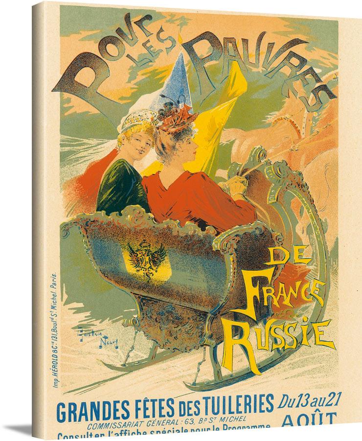 Povr Les Pauvres Gaston Noury - Les Maitres De L Affiche