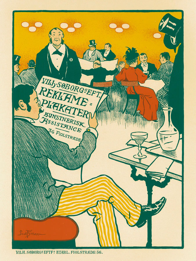 Reklame Plakater Paul Fischer - Les Maitres De L Affiche