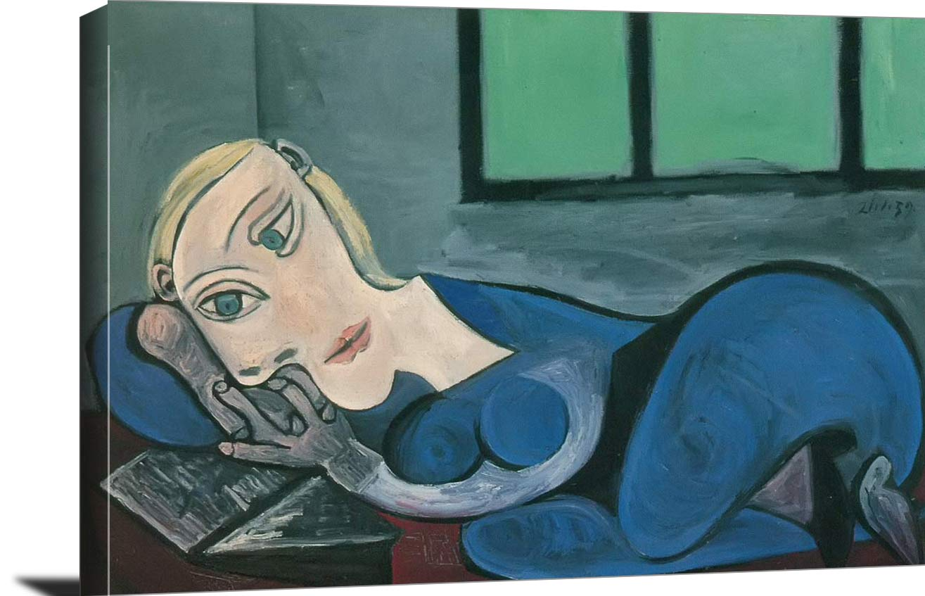 Woman Reading 1939 Pablo Picasso