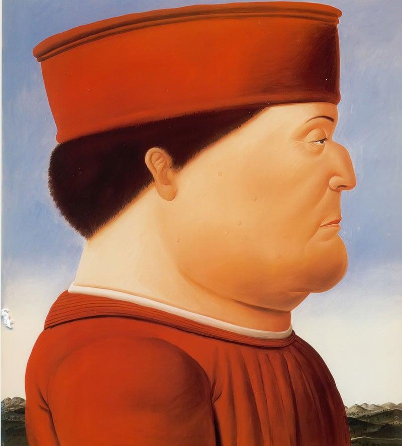 Piero Della Francesca by Botero
