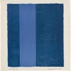 Canto Vii 1963 by Barnett Newman