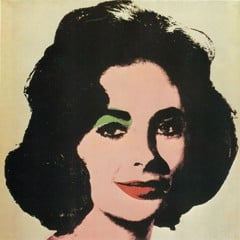 Liz by Andy Warhol