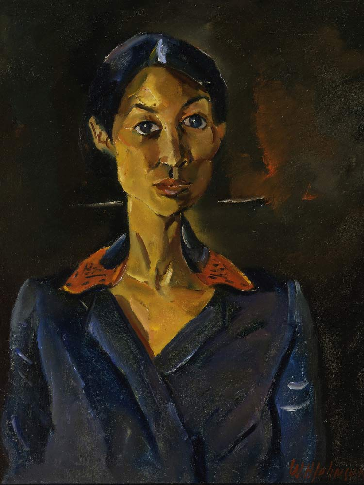 Portrait Study, No. 16 William H Johnson