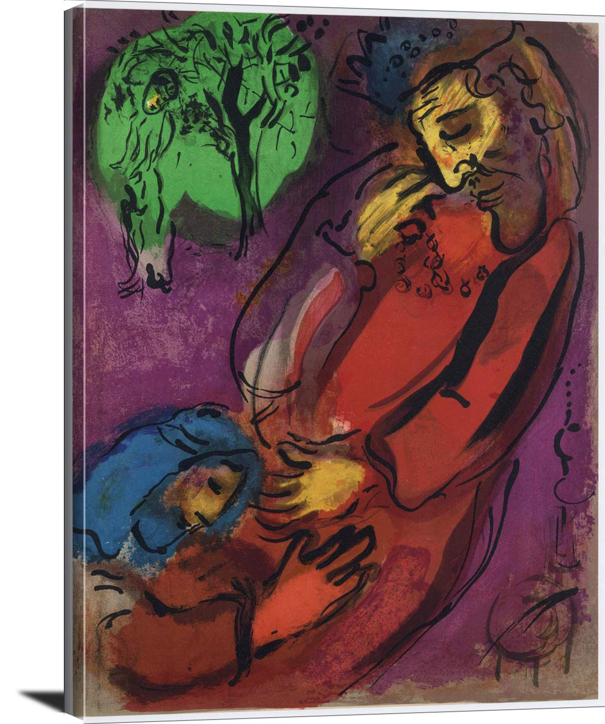 David And Absalom Marc Chagall