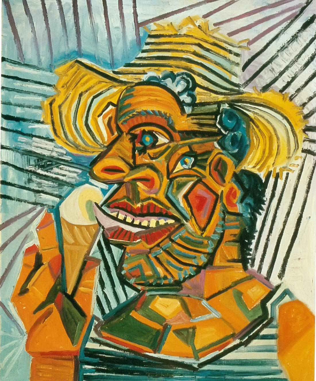 Man With An Ice Cream Cone 1938 Pablo Picasso