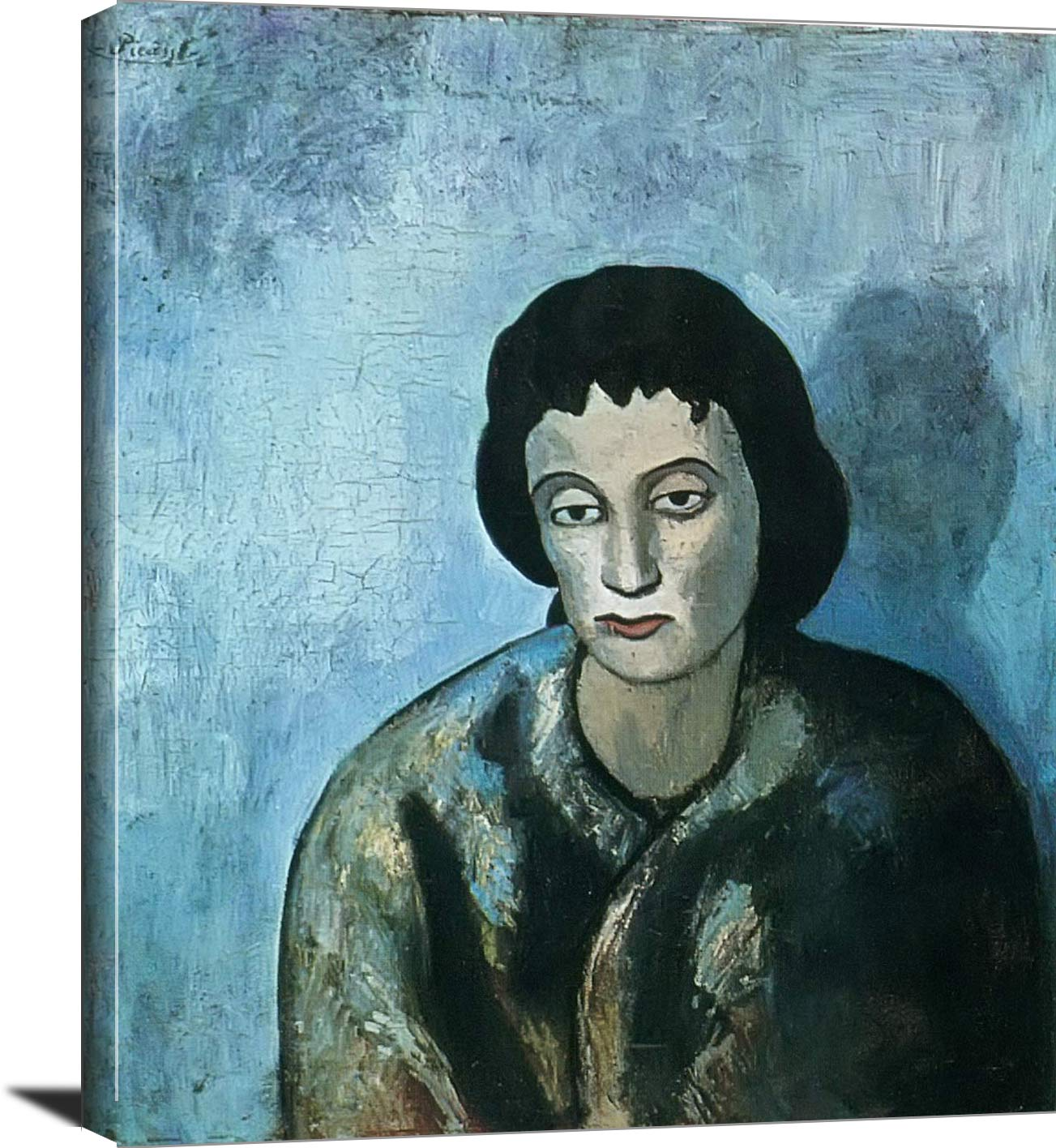 Woman With A Fringe Pablo Picasso