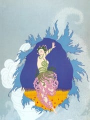 The Coming Of Spring by Erte