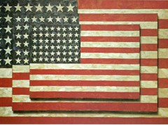 Three Flags 1958 by Jasper Johns
