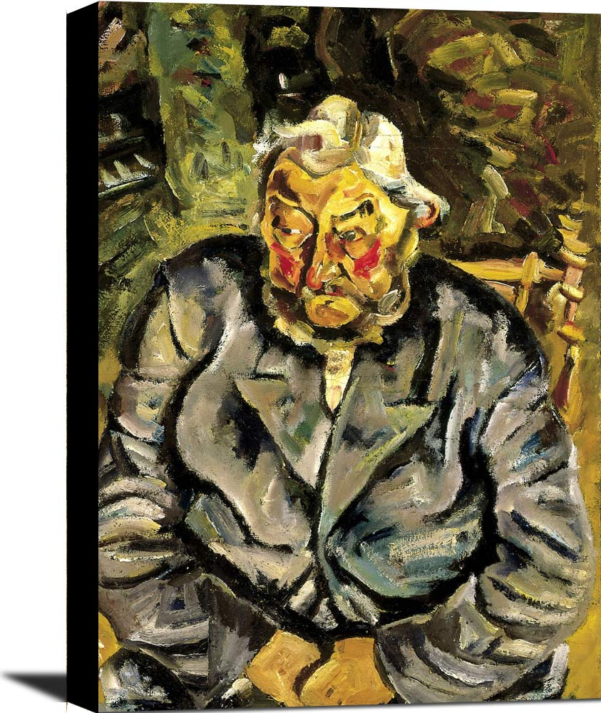 Portrait Of An Elderly Dane William H Johnson