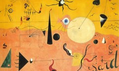 Catalan Landscape The Hunter 192324 by Joan Miro