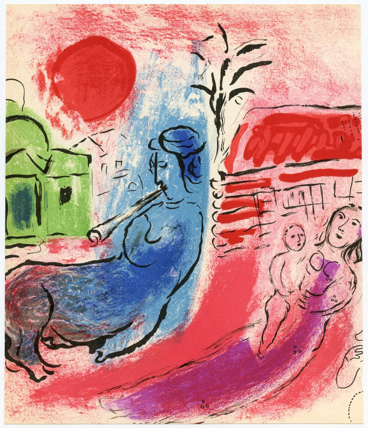 Maternite Au Centaure Marc Chagall