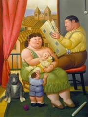 Family 3 by Botero