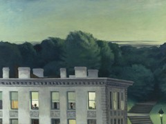 House At Dusk by Edward Hopper