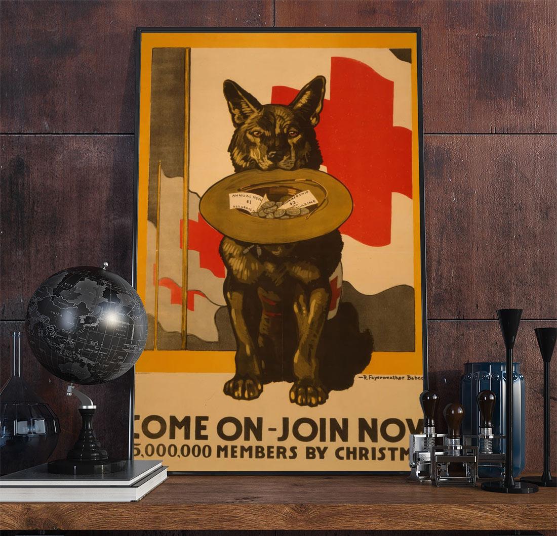 64wpa Advertising Vintage Advertisement Poster