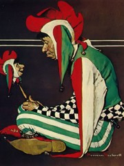 Jester by Norman Rockwell