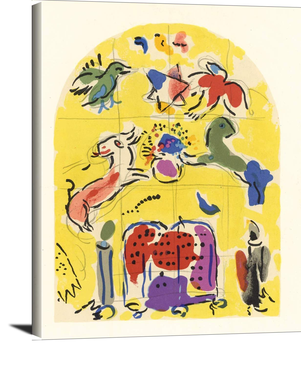 Tribe Of Levi2 Marc Chagall