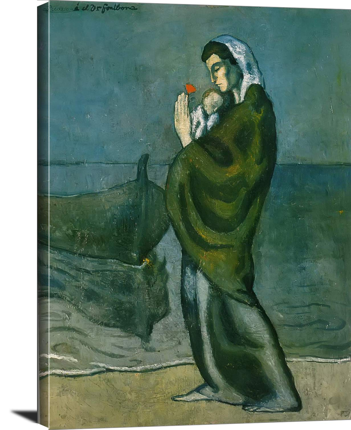 Motherhood By The Sea Pablo Picasso