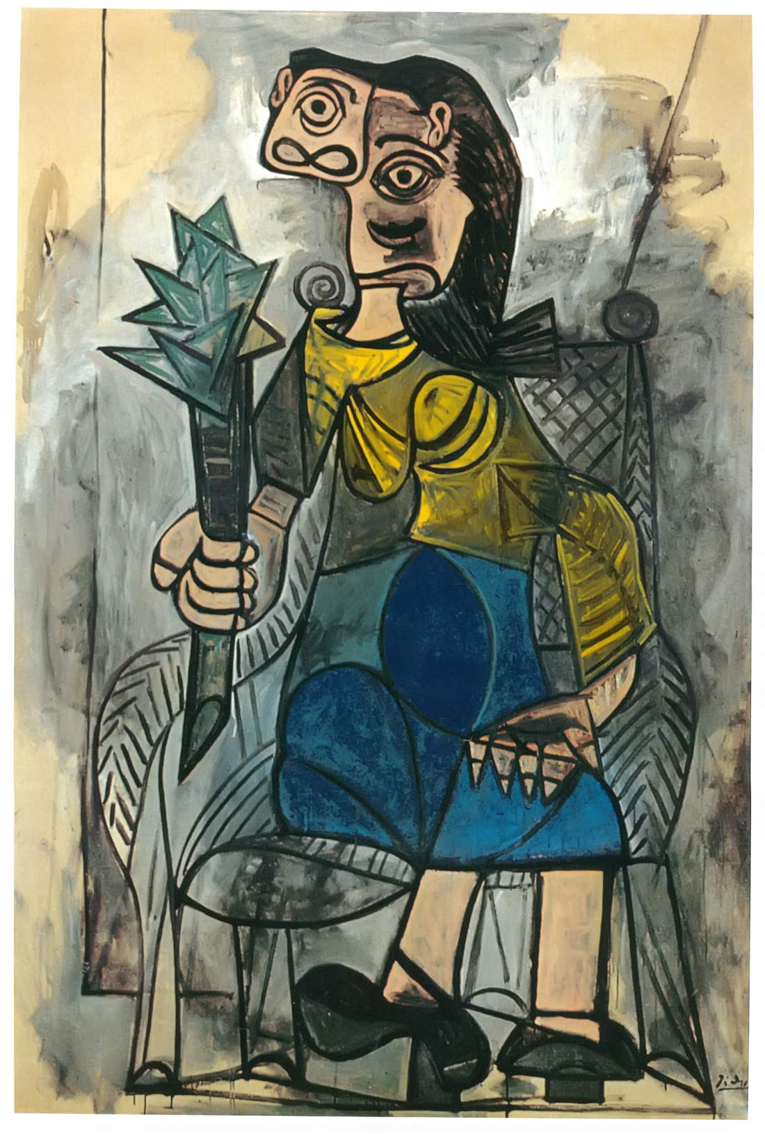 Woman With An Artichoke Pablo Picasso