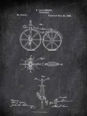 Velocipede P Lallement 1866 Activities by Patent