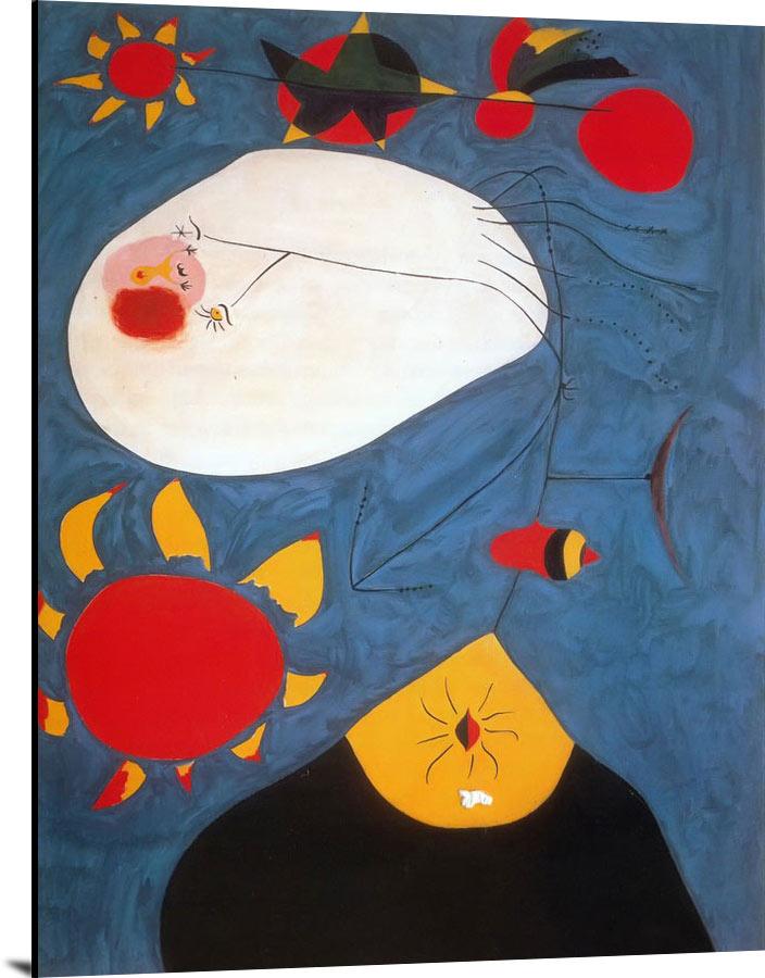 Portrait Iv 1938 by Joan Miro